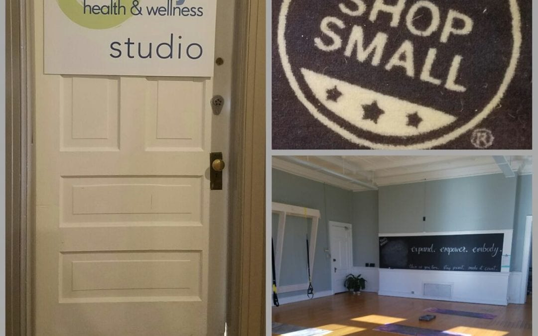 Black Friday and Shop Small Saturday:  Give the Gift of Health