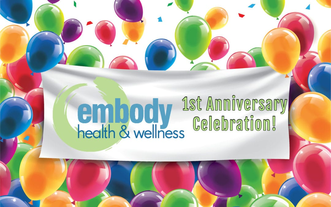 It's our 1st Anniversary!